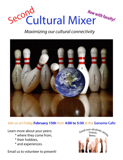 Second cultural mixer today!