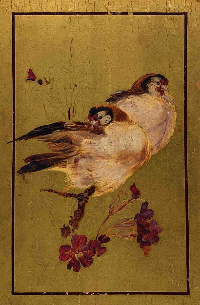 Beatrix Whistler Two Finches 1881