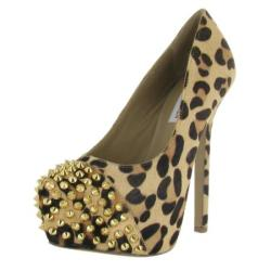 Steve Madden Bolddd Women's Studs Platform Pumps Shoes
