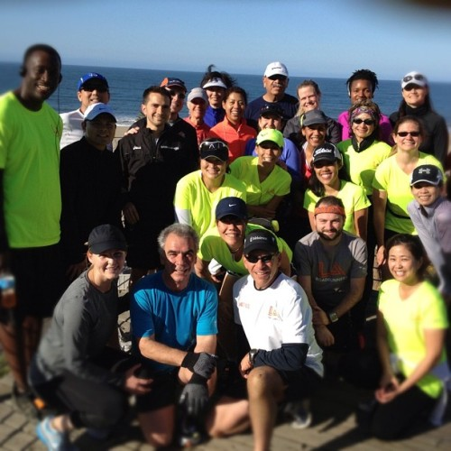 My killer marathon training group.