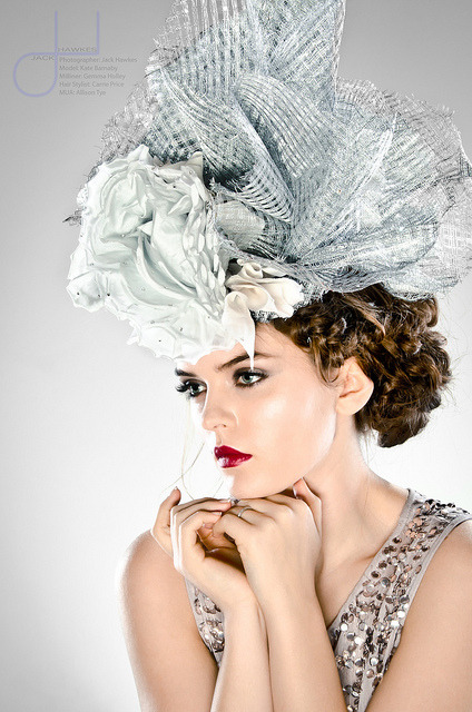 Gemma Holley Millinery by Jack Hawkes Photography on Flickr.A través de Flickr: Where to find me…FacebookFollow on TwitterModel MayhemPurple PortTumblr