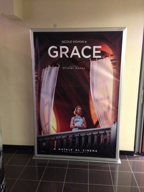 amenzeta:  first promo poster for the upcoming movie Grace in Italia