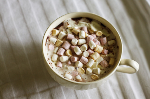 vintagefoods:  Hot chocolate kind of day (di MarilleAlcie)