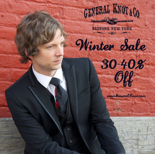 generalknot:  Wrapping up our Winter Sale @ 30-40% Off