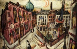 """The Synagogue"", 1919  By: MAX BECKMANN…."