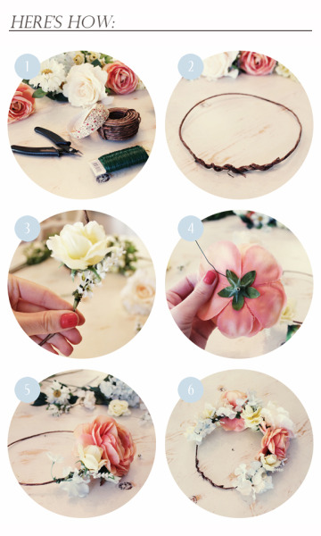 littlealienproducts:  diy flower crown