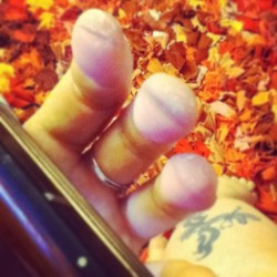 Some have spirit fingers, but I have #acoustic pluckin' fingers.  Manicure schmanicure. I like my #guitar hands. #music #songwriting #playing #jazz #ballads #singing