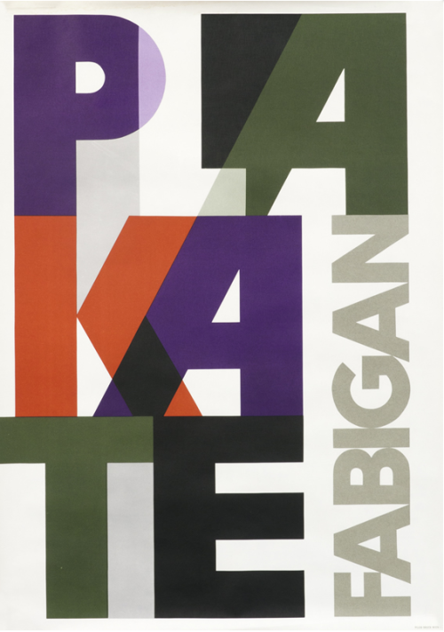 agi-open-london:  Hans Fabigan — Plakate Fabigan (1955)