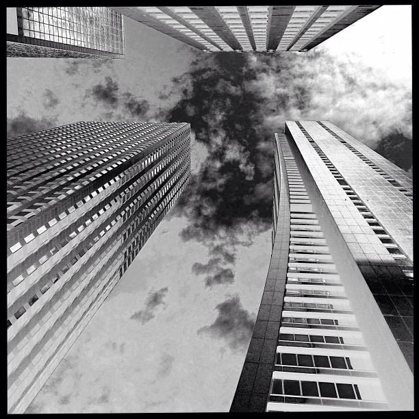 Chase + 3 others. #chicago #photography #blackandwhite #architecture #art #solar #abstract