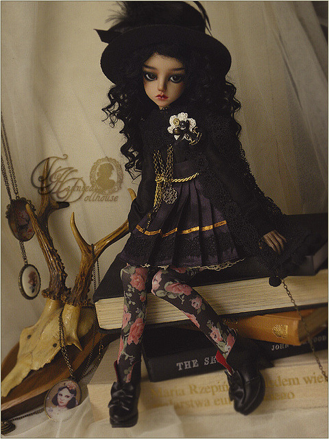 .doll. on Flickr.Dolly-kei inspired outfit
