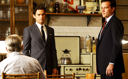 "WHITE COLLAR MID-SEASON PREMIERE ADVANCE REVIEW After a long hiatus, White Collar is back with an explosive mid-season premiere! ""Family Business"" airs on Tuesday, January 22nd. For three seasons, Neal Caffrey's past has been shrouded in mystery. It's only in the last season that we've started to see glimpses of Neal's childhood, and even those have been few and far between. If you're worried that revealing Neal's father will take anything away from his character's intrigue, you can lay your fears to rest! While ""Family Business"" definitely fills in a lot of blanks in Neal's past, there's still a lot left to discover. READ REVIEW"