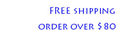 FREE shipping and FREE returns order over $80