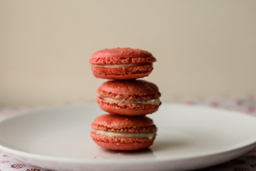 Isaphan Macaroons - Lychee, Rose and Raspberry flavoured. I'm so intrigued.