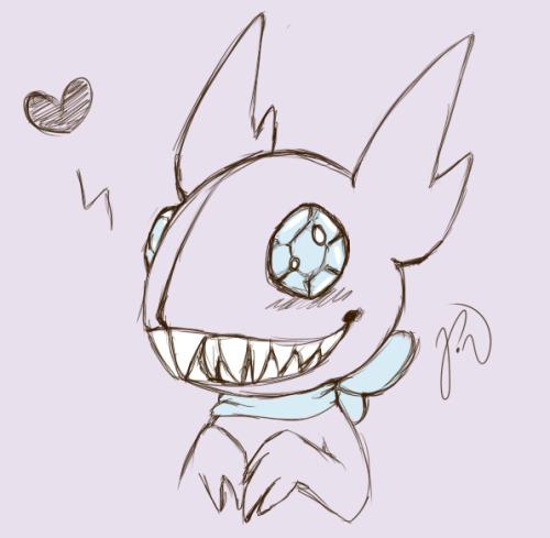 #pokemon#sableye#art#sketch#doodle#poopy