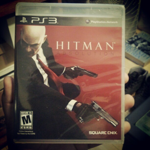 Time to fuck shit up with Agent 47! #HitmanAbsolution #Agent47 #PS3 #Gaming