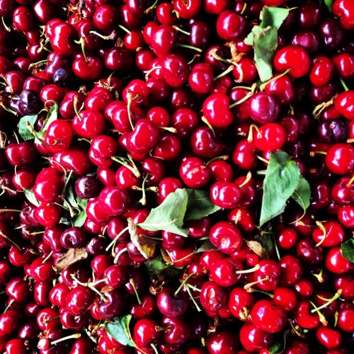 Cherries! Summer goodness as well as good for reducing inflammation, helping headaches subside, and soothing sleep.