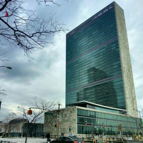 And the Nations unite. #unitednations #giwnyc #giwtravel #giwusa #nyc #newyork  (at United Nations)