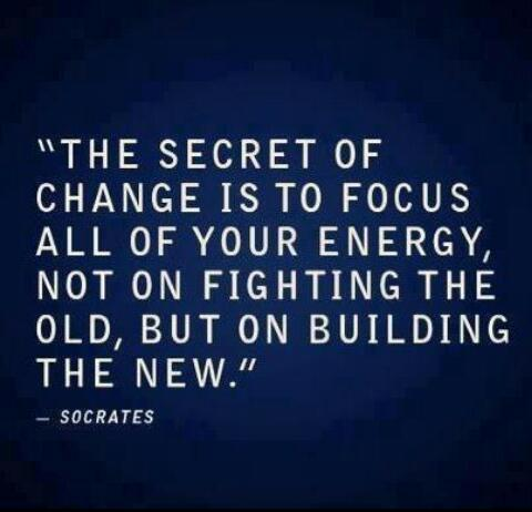 apieceofpaperbesidethebed:  The secret of change!!!!