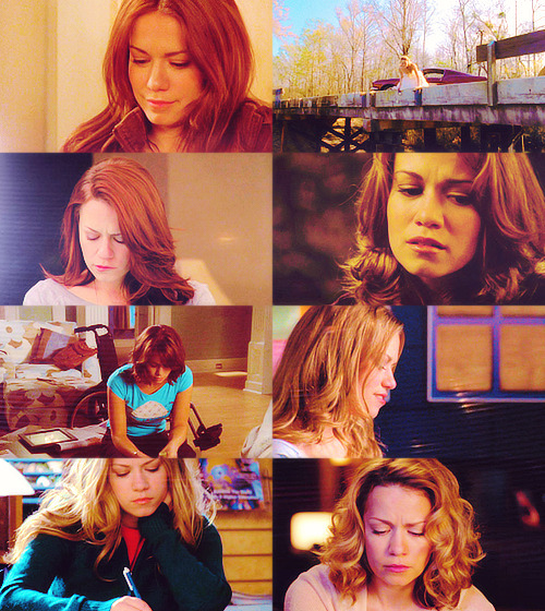 haley james scott + looking down (asked by halvesofmyheart)