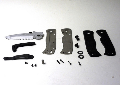 Emerson CQC7 Exploded View