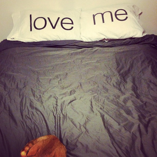 fuck, you love me pillowcases