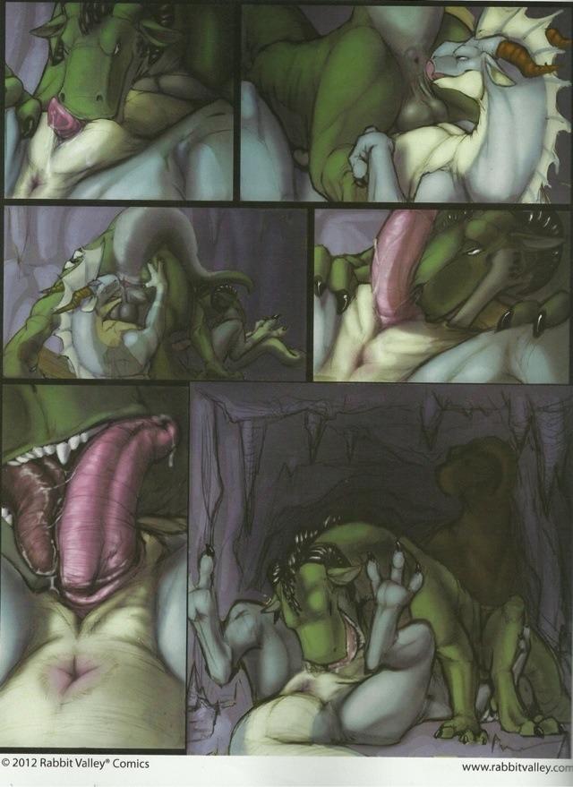 Драконы фурри порно комиксы