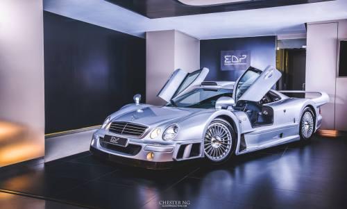 A real Mercedes
