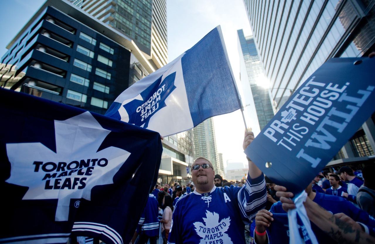 So, the Leafs didn't win on Monday night, in their first playoff game since 2003. But look at how excited Toronto is about actually having a team in the post-season. LOOK AT THEM. (Photo: Tyler Anderson/National Post)