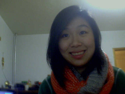 Someone got me this awesome scarf and omg, I love it. Happy holidays, everyone ♥