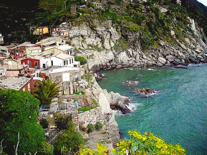 | ♕ |  Cliff top Vernazza - Cinque Terre  | by © Monte Nero