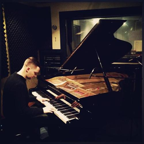 lapoesy:   Recording in Amsterdam…  Adam Anderson on Instagram.