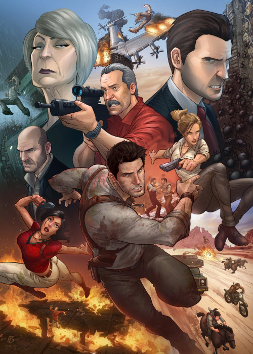 Uncharted 3 par Patrick Brown