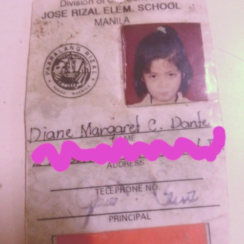 Grade school ID. old is old… #tbt  #throwback