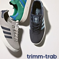 RESTOCK: adidas Originals Trimm-Trab OG - size? UK exclusive ~ Available again in stores and online now ~ Sizes range from 6 - 12UK, priced at £67 #size #adidas #originals #trimm #trab #exclusive #og #sizehq  (at www.size.co.uk)