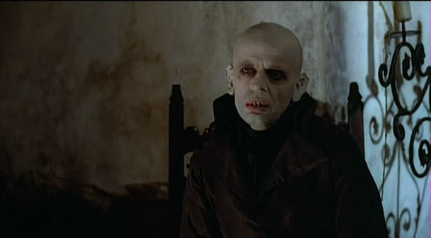 serpent-kiss:  Nosferatu - 1979 version by Werner Herzog. Nosferatu played by the wonderful Klaus Kinski