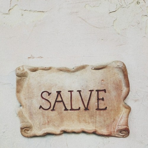 """SALVE""  (at MostDefinitelyNotStarBucks)"