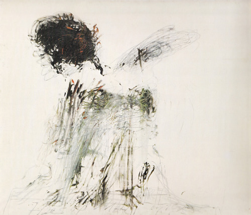workman:  everymess: Cy Twombly - Ides of March (1962)