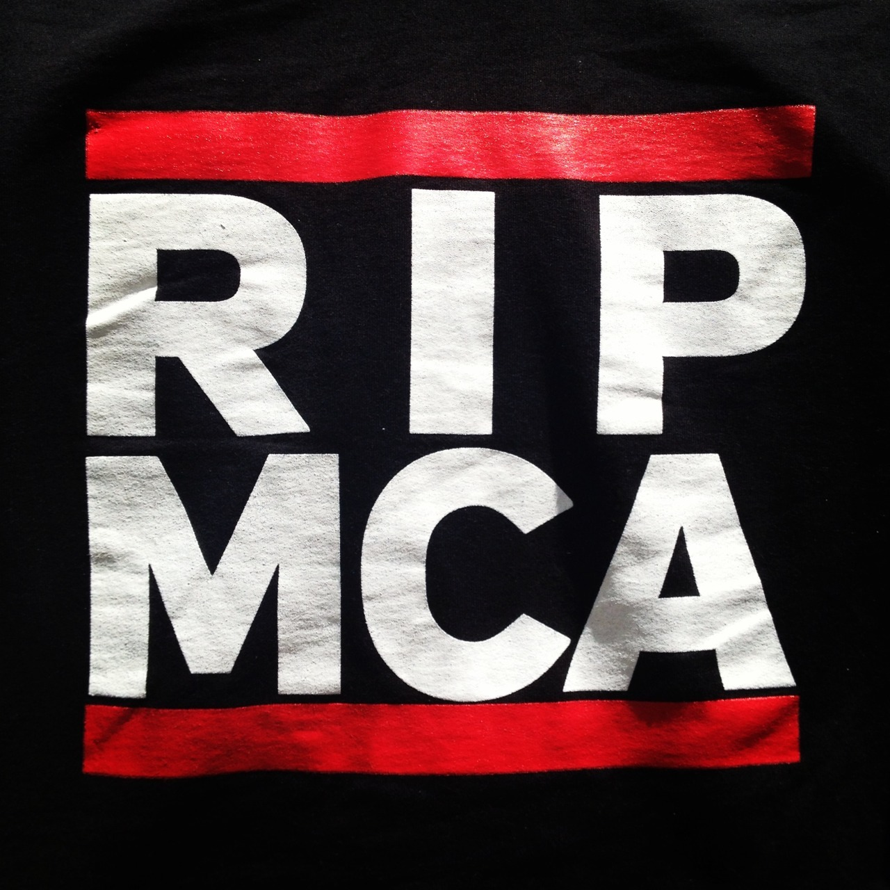 New favorite hoodie.  Rest in Peace Yauch.