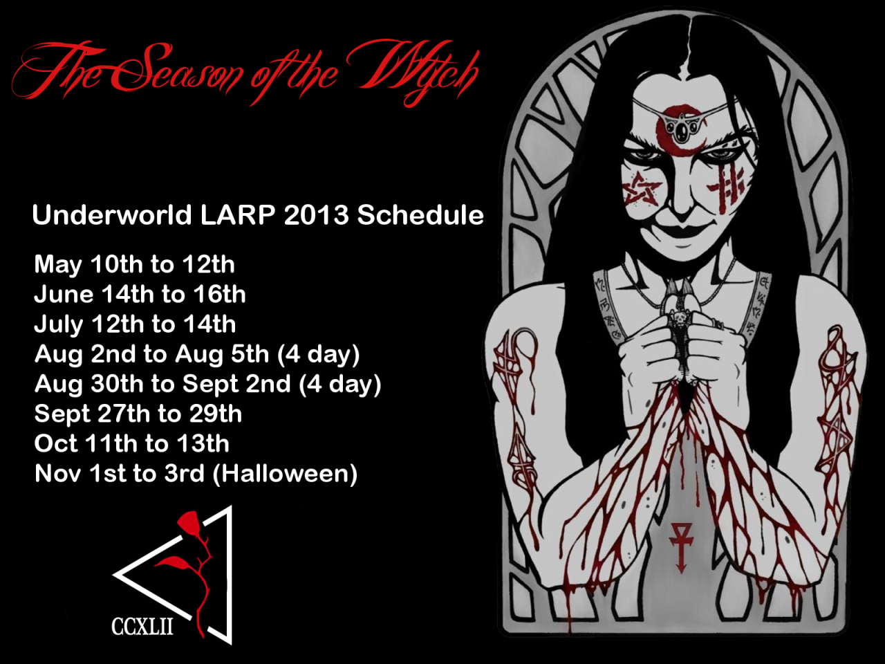 underworldlarp:  Underworld LARP.  Mark your calendars gentlemen.