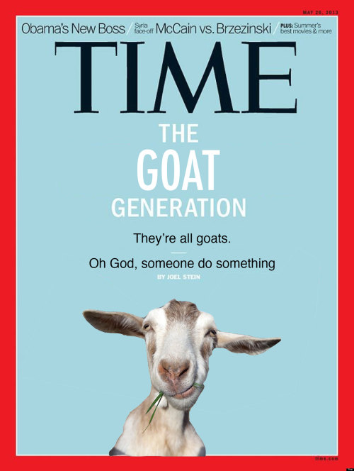 We're all goats!