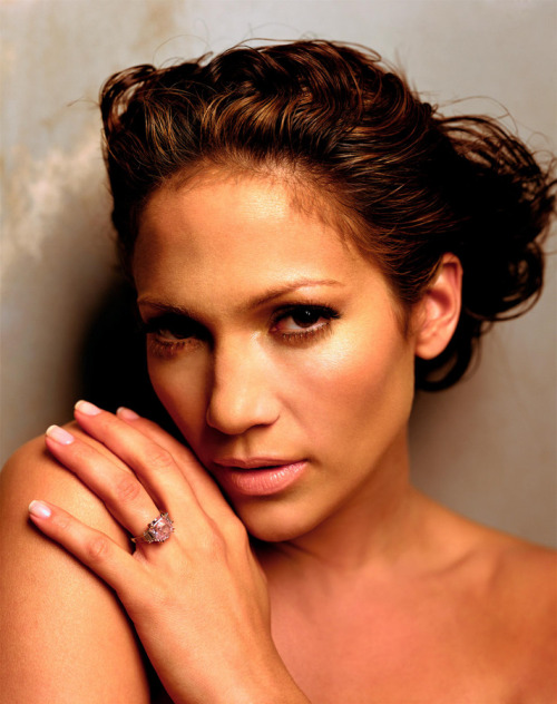 Jennifer Lopez by Mark Seliger for GQ, 2002