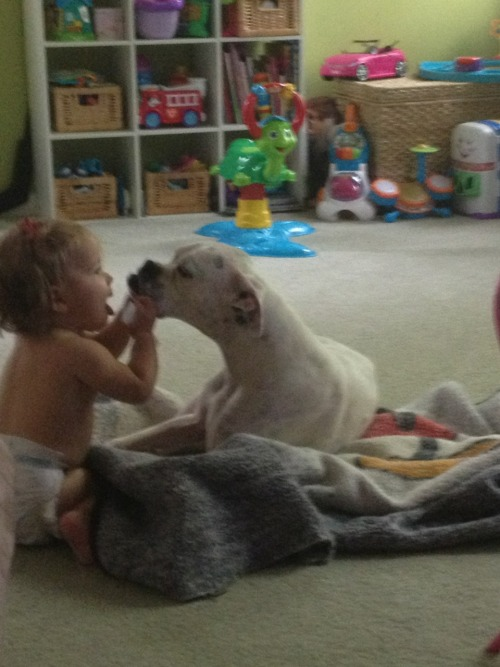 This melts my heart… Chloe daisy love!!