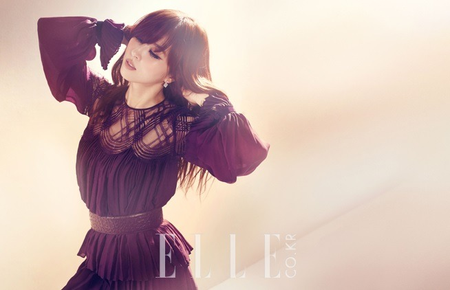 koreanmodel:  Han Hyejin by Ahn Joo Young for ELLE Korea January 2013