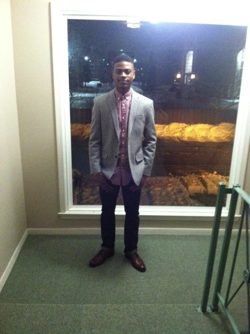 Last nights attire. 👞👔