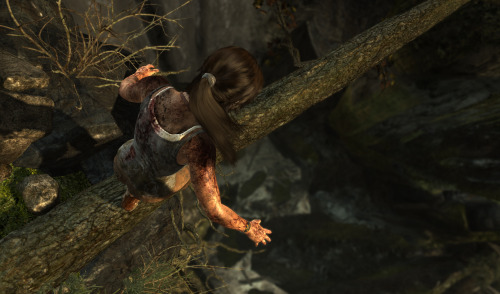 "tombraider:  Lara Croft Has a Great Hair Day Thanks to TressFX  Last Friday we revealed our PC specs, touching lightly on our ongoing relationship with AMD. Today we dive much deeper into Tomb Raider's PC optimization with the reveal of TressFX, the first real-time hair rendering and physics system in a playable PC game.  It's no secret that realistic hair has been one of the most challenging materials to reproduce in real-time, as each of tens of thousands of strands casts it own complex shadow and requires anti-aliasing. That doesn't even take into account the constant updates to try and synchronize said hair with the movement of a character. AMD and Crystal Dynamics are extraordinarily excited to address this in Tomb Raider, especially noting how important Lara's iconic locks are to fans. ""AMD Graphics and Crystal Dynamics have partnered to revitalize one of video gaming's most iconic characters, Lara Croft of the Tomb Raider franchise,"" said Matt Skynner, corporate vice president and general manager, AMD Graphics. ""Developers at AMD and Crystal Dynamics collaborated tirelessly to leverage the power of AMD Radeon to develop the world's first real-time hair physics system in a PC game. TressFX Hair combines advanced lighting, per-strand physics, and collision detection to bring unprecedented realism to this final frontier of image quality in PC gaming."" Using DirectCompute to unlock the massively-parallel processing capabilities of the Graphics Core Next architecture, TressFX hair allows for a quality previously only achievable in pre-rendered images.  DirectCompute is also used to perform the real-time physics simulation for TressFX Hair, treating each strand as a chain with dozens of links, which allows for forces such as gravity, wind, and Lara's movement to influence Lara's hair in a realistic fashion. Collision detection is performed to ensure that the strands don't pass through each other, or solid surfaces. Lastly, Lara's hairstyle is simulated by gradually pulling the strands back to their original shape after they have moved in response to an external force.  So how can you get in on Lara's new and improved hair? Graphics cards that take advantage of the Graphics Core Next architecture, such as the AMD Radeon HD 7000 Series, are optimal for the task at hand thanks to the fast on-chip shared memory and processing throughput.  Phew! That was a lot of information! Showing is always better than telling, so take a peek at Lara's new and improved 'do above!"