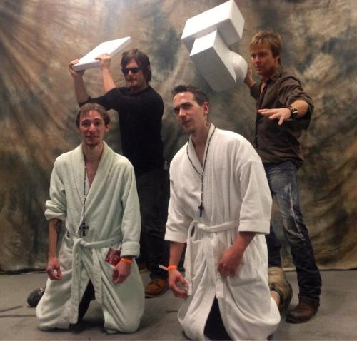 tracysdream:  photo just tweeted by Sean Clark  Best Boondock Saints cosplay ever!