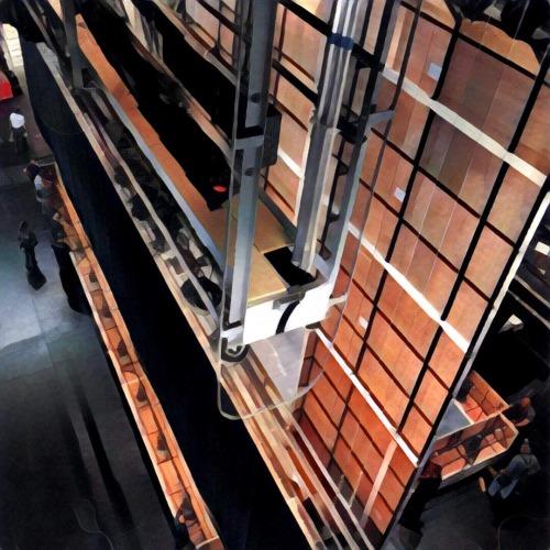 Backside of the set - Andrea Chenier