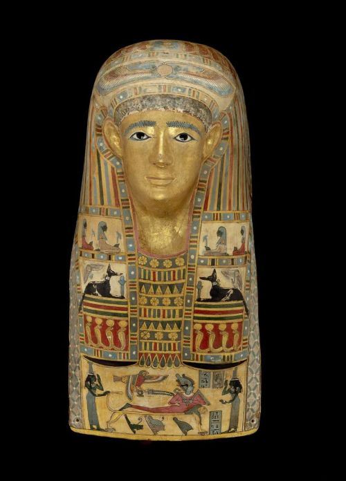 yeaverily:  Mummy mask, Egyptian, Greco-Roman Period, A.D. 1–50