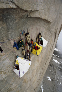 Cool weird Awesome sports nature outdoors cliff Camping extreme tents