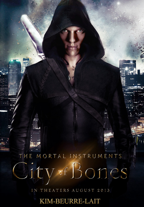 kim-beurre-lait:  City of Bones Poster - The Mortal Instruments Details [X]